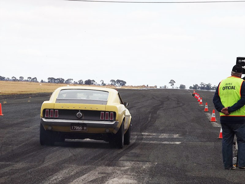 Deniliquin hot rod run 40