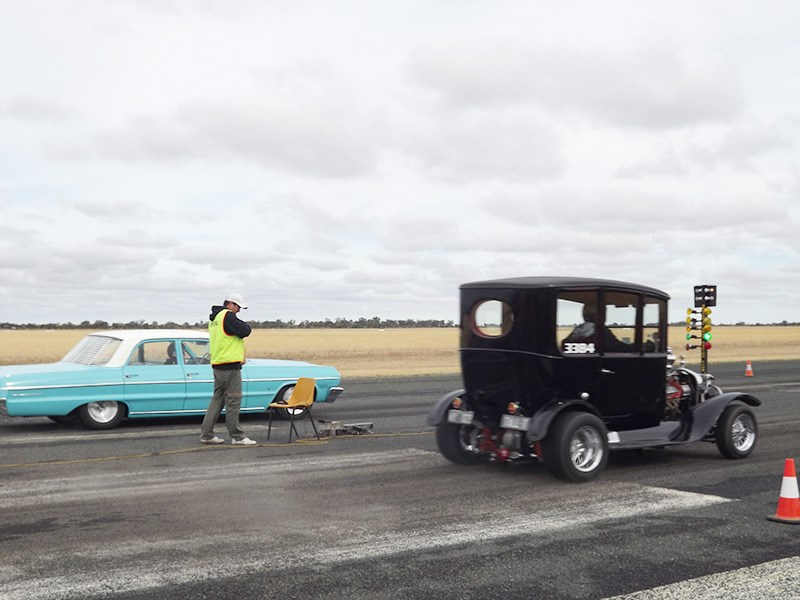 Deniliquin hot rod run 45