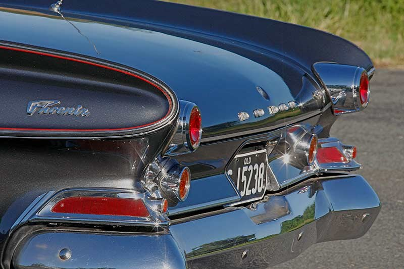 Dodge Phoenix rear fins