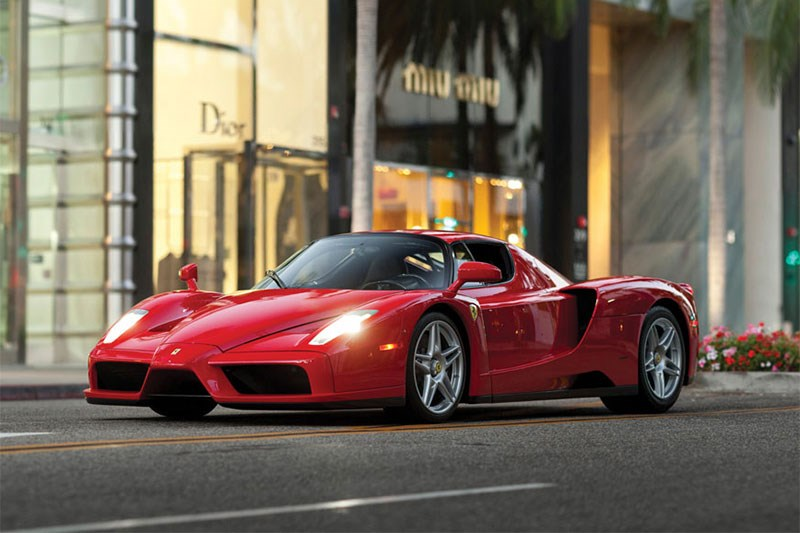 "Floyd 'Money"" Mayweather's 2003 Ferrari Enzo went for $4.53m"