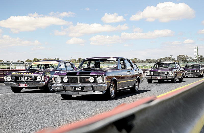 Ford Falcon Wild Violet XY Fleet
