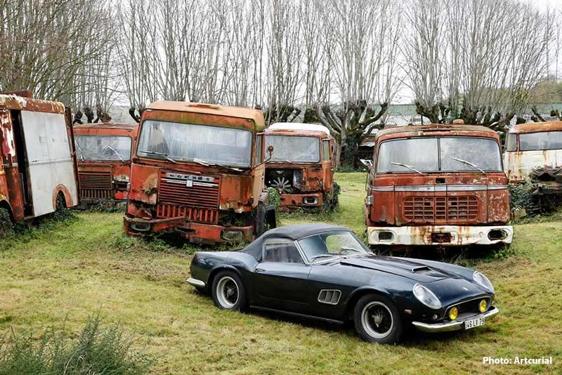 Ferrari 250 GT California SWB, Collection-Baillon