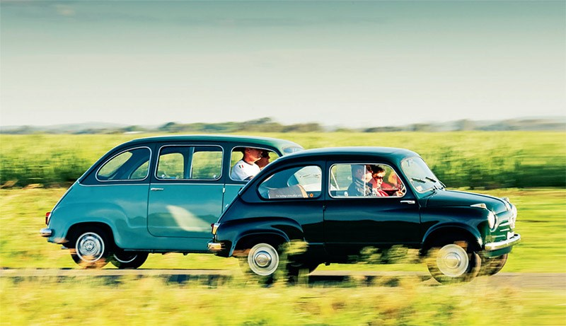 Fiat 600 and Multipla