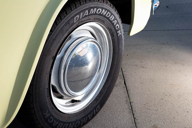 Ford Anglia resto wheel