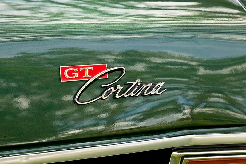 Ford Cortina mk2 gtl badge
