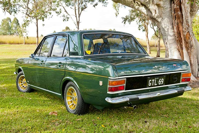 Ford Cortina mk2 gtl rear