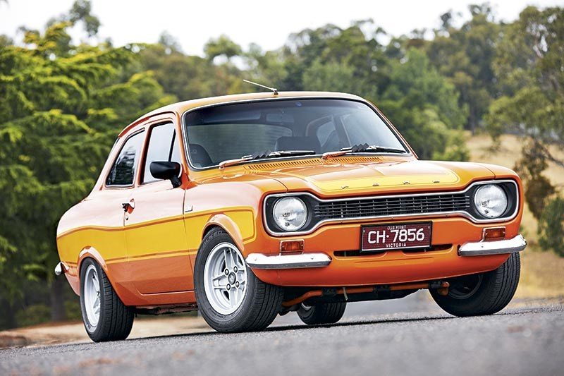 Ford Escort front