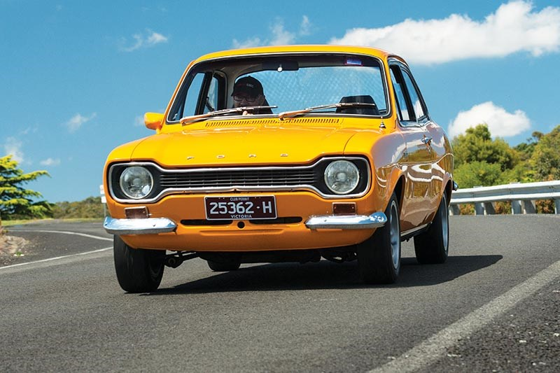 Ford Escort onroad front
