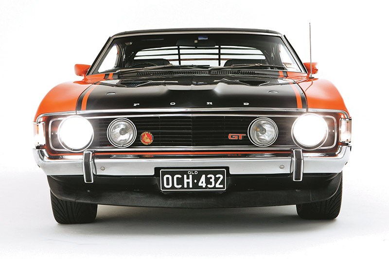 Ford Falcon XA GT front 9