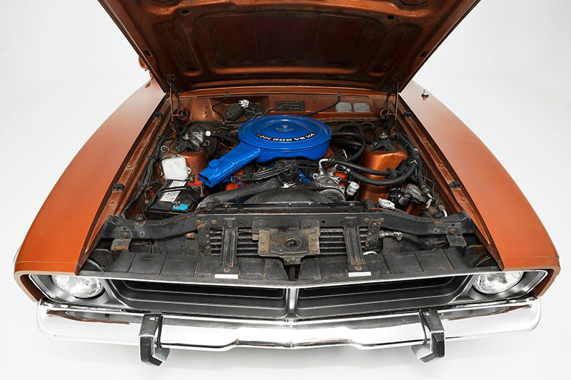 Ford Falcon XB Fairmont engine bay