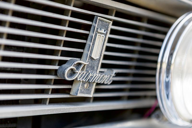 Ford Falcon XW Fairmont grille badge