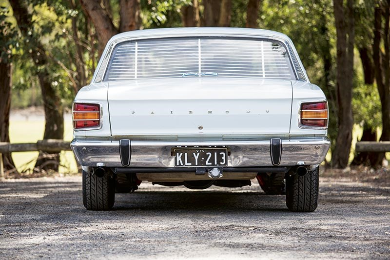 Ford Falcon XW rear