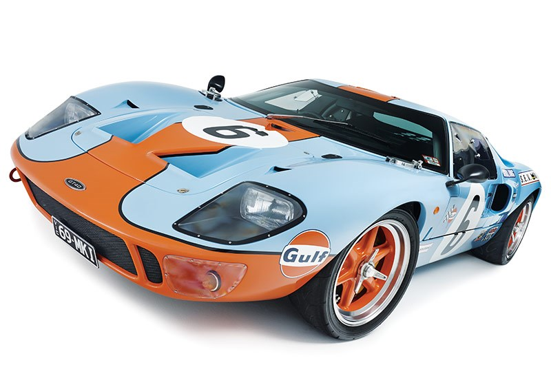 Ford GT40 front low