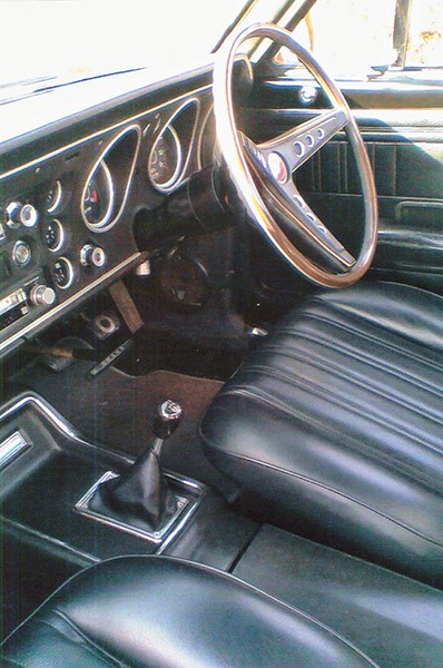 Mick had dreamed of sitting behind this dash