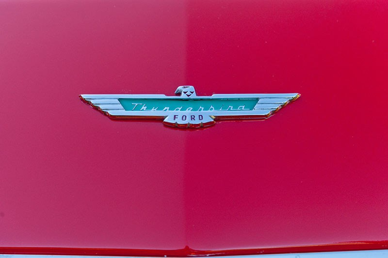Ford thunderbird badge 2
