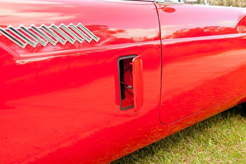 Ford thunderbird vents