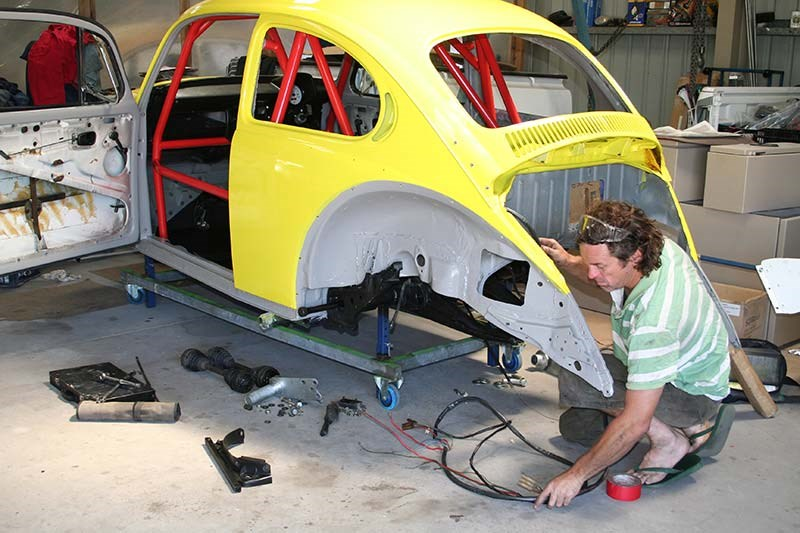 Glenn Torrens VW Beetle 3