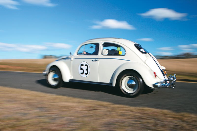 Micakovski goes bananas in his very own Herbie