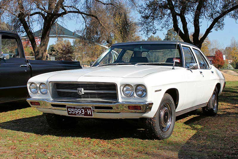 Colin Smith's 1974 HQ Holden