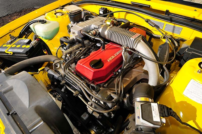 Holden Commodore VL Turbo engine bay