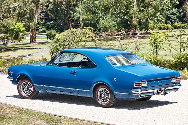 Holden HK Monaro 186 side