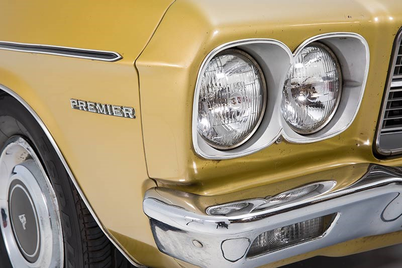 Holden HQ Premier headlight