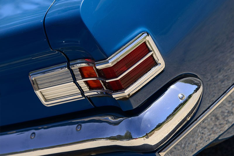 Holden Hk Monaro 186 taillight detail