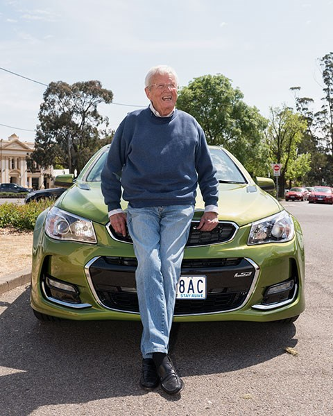 Leo Pruneau with the 2016 Commodore SS-V