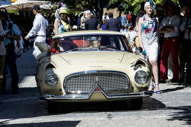 The Prototype Italia was one of the many stars at the 2014 Concorso D'Eleganza Villa D'Este