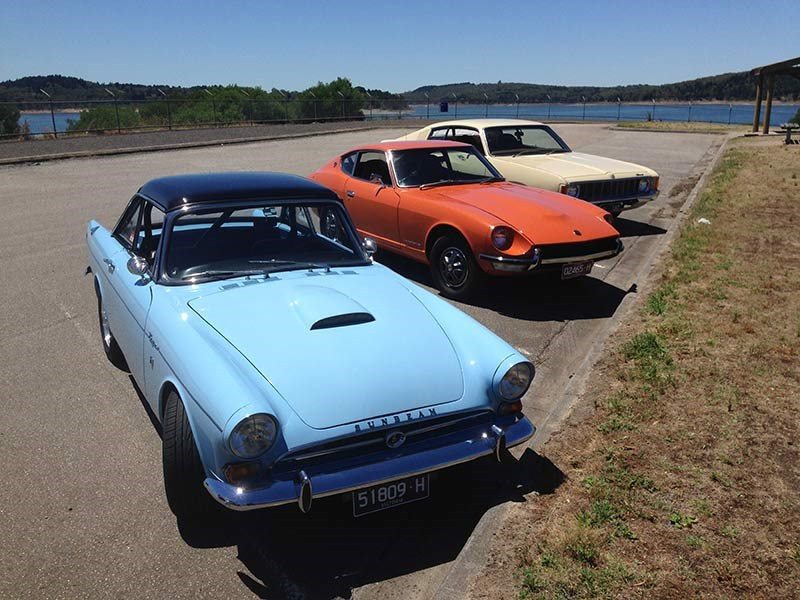 Sunbeam Tiger, Datsun 240Z and Valiant Charger