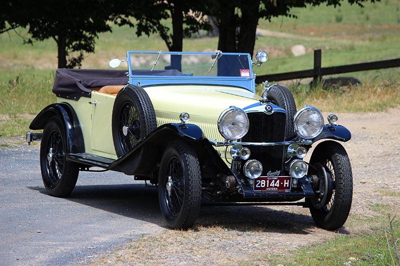 Alf Wilson's 1934 Crossley