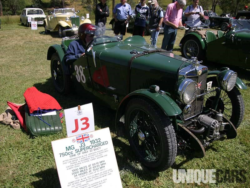 Walter Magilton's 1932 750cc supercharged MG J3