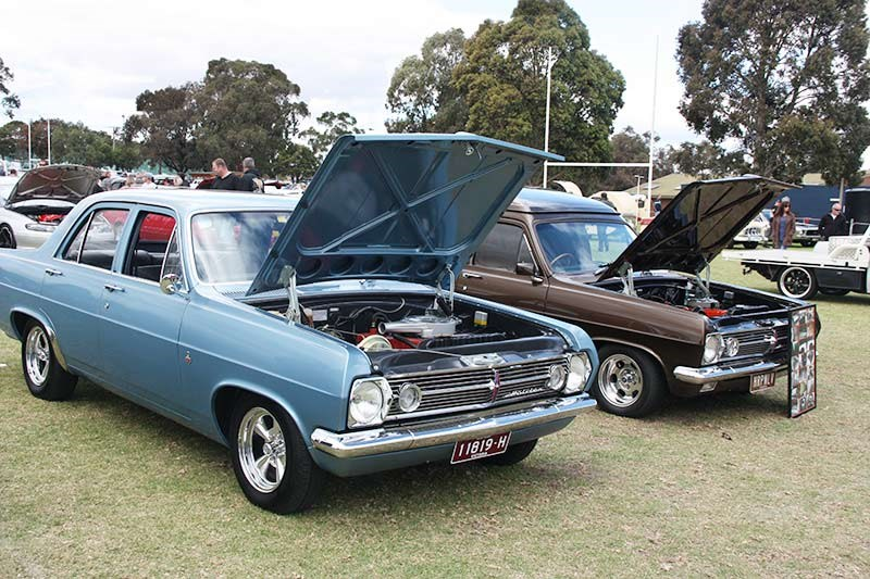 Dandenong Valley All Holden Street Car Show