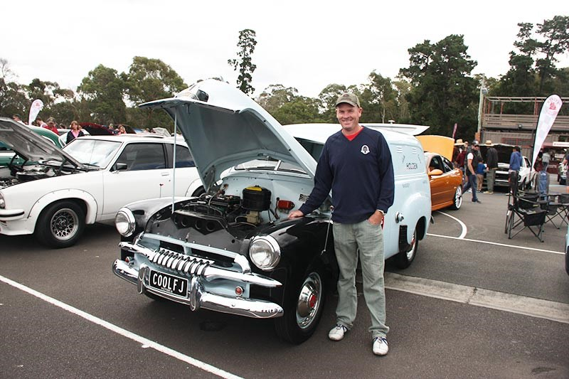 Scott Irving and his 1955 FJ