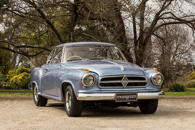 A 1962 Borgward Isabella coupe  is expected to fetch between $13,000-$15,000