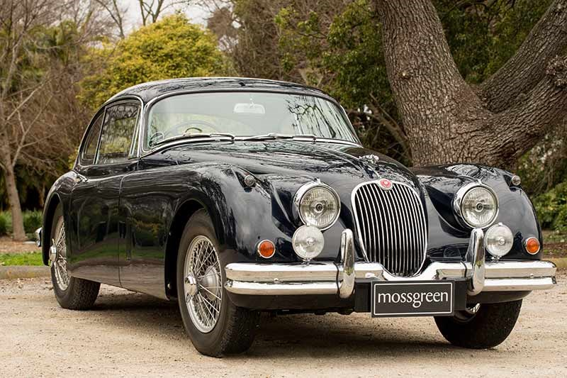 A 1958 Jaguar XK150 fixed-head coupe should realise between $140-$160,000, head of sale Robbie Richards said