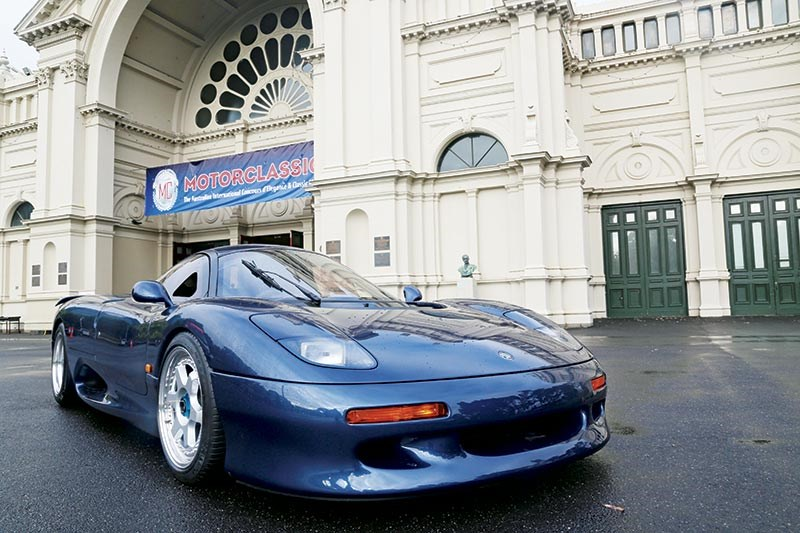 The Jaguar XJR-15 made it to Motorclassica