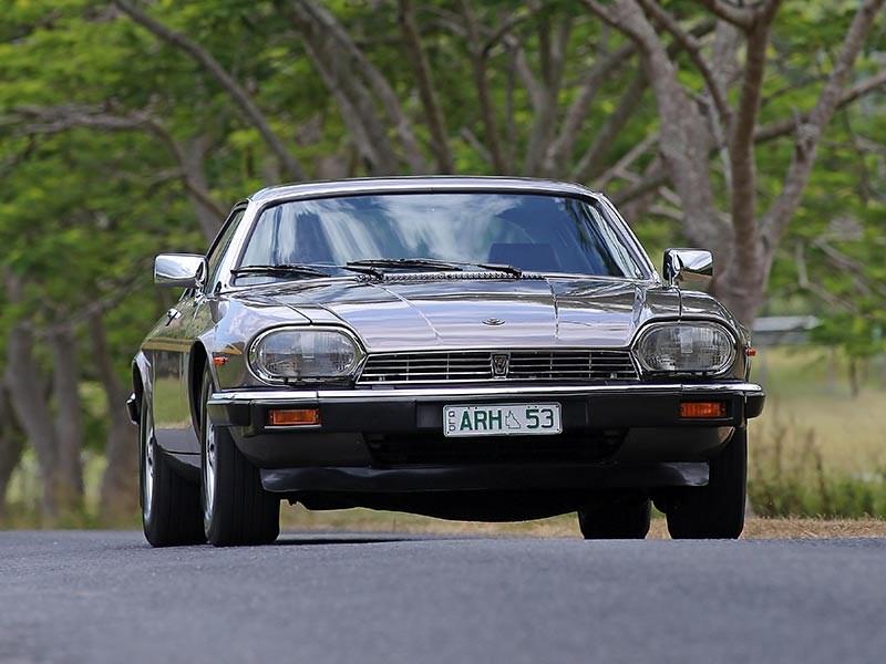 Jaguar XJS Front