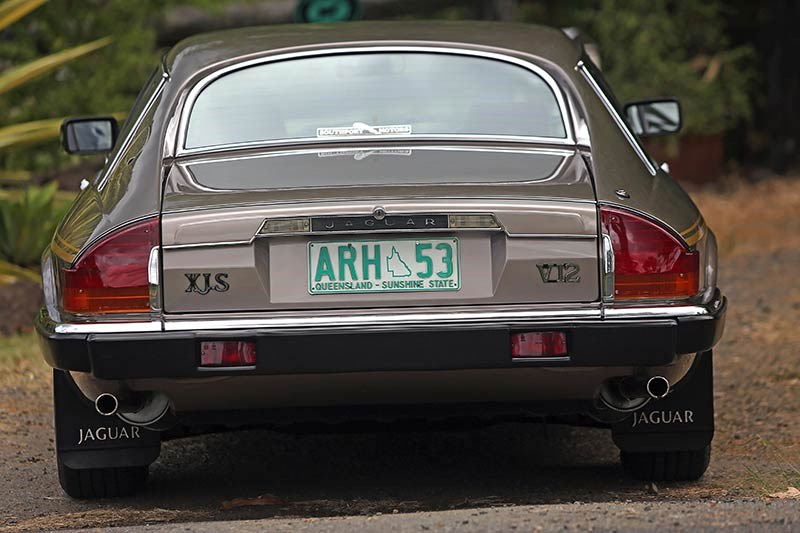 Jaguar XJS rear