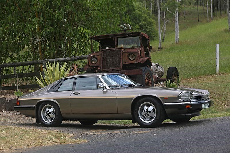 Jaguar XJS side