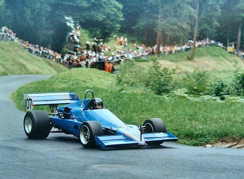 Joy at Shelsley Walsh in Pilbeam