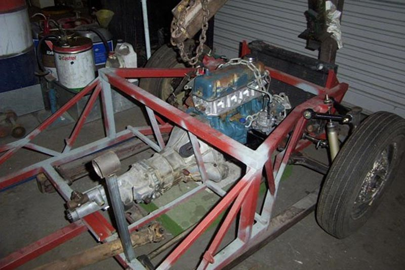 KM 200 chassis before
