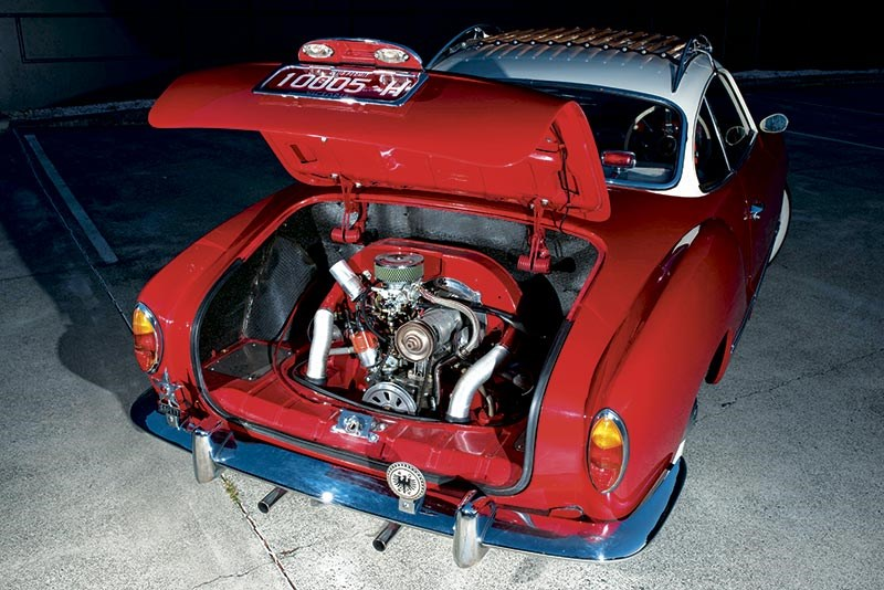 The Ghia's original 1.2-litre engine slashed over 10 seconds off the Beetle's 45 second 0-60mph time