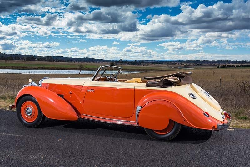1939 V12 Lagonda Rapide Drophead Review