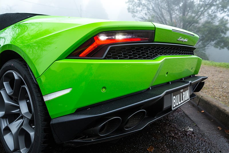 Lamborghini Huracan tail lights