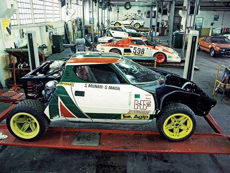 Lancia workshop