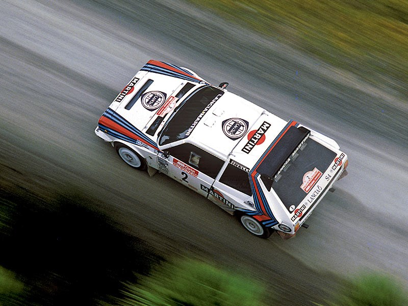 Incredible twin-charged Lancia Delta S4