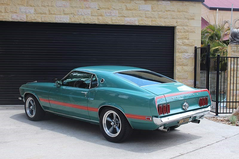 Michael Woodcroft's 1969 Ford Mustang Mach 1
