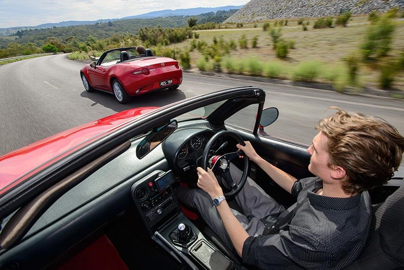 Mazda MX5 NA ND onroad