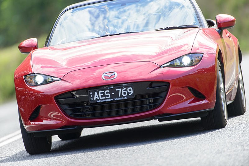 Mazda MX5 ND front